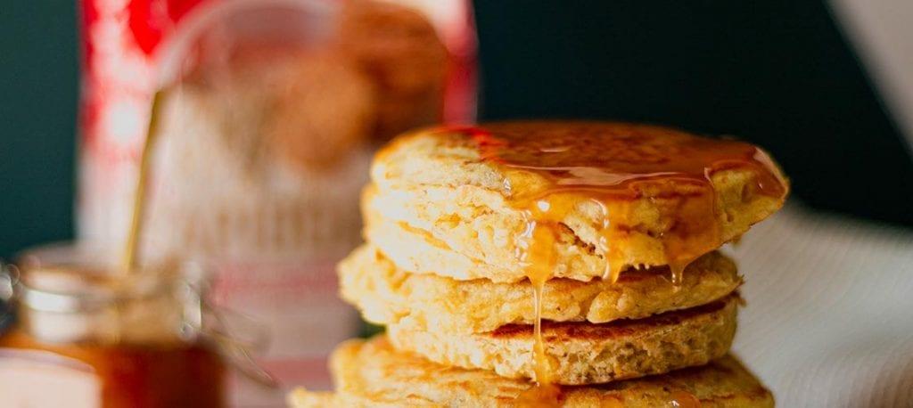 pancakes aux flocons d'avoine avec les rapidoats Auguste Bloch